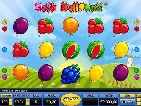 казино Вулкан Платинум Cash Balloons